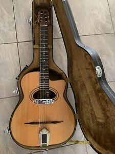 guitare manouche collector Mario Maccaferri by Ibanez en TBE