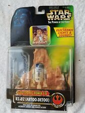 Kenner Star Wars Potf Electronic Power Efx R2D2 Action Figure