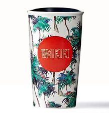 Starbucks Waikiki Beach, Hawaii Double Wall Traveler, 12 fl oz