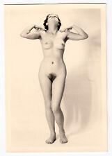 #712 RÖSSLER AKTFOTO / NUDE WOMAN STUDY * Vintage 1950s Studio Photo - no PC !