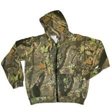 HSF Camo Lightweight Hoody Jacket for Hunting and Fishing Size Small