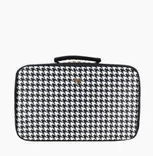 PurseN Amour Travel Toiletry Case Houndstooth Large