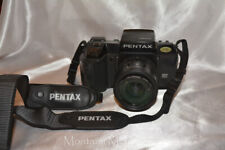Pentax Sf-1 35mm Film Camera With Smc 35-80 Pentax-F Lens, Strap, Hoya Filter