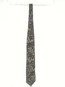 100% silk Necktie   A. Taghi    made in Italy