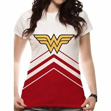 Cid DC Comics Ladies T-shirt Wonder Woman Cheerleader Logo Taglia XXL
