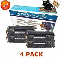 4PK Q5949A 49A High Yield Black Toner For HP LaserJet 1160 1320 1320n 3390 3392