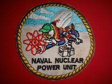 US Navy Patch NAVAL NUCLEAR POWER UNIT
