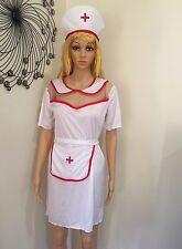 NURSE COSTUME Sexy Dress Halloween Adult Fancy Women Costume Party New