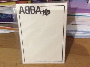 Abba The Movie. Promotional notepad. Sealed. Vintage.Private collection. Sweden.