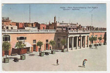Palace Square Main Guard Valletta Malta 1935 postcard