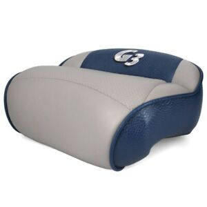 G3 Boat Leaning Seat 73522130 | Blue Gray 14 3/8 x 12 Inch