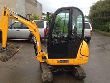 JCB 8018 mini excavator digger not kubota or takauchi