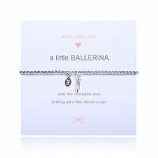 Joma Jewellery Girls a little Ballerina CHILDRENS ballet shoe bracelet, gift bag