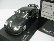 WOW EXTREMELY RARE Porsche 996 911 2001 GT2 462HP Black 1:43 Minichamps-Spark-RS