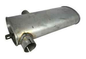 Unimog 411 421 Auspuff  Auspufftopf mit Endrohr Ø 45 MERCEDES Schalldämpfer M96