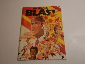 1986 - 1987 BALTIMORE BLAST MISL SOCCER Magazine Yearbook Signed Inside