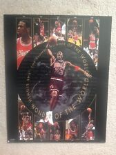 1997 NBA Bulls HOF Michael Jordan Eighth Wonder Of The World Poster