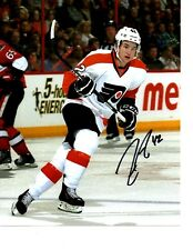 Jason Akeson autographed signed NHL Philadelphia Flyers 8x10 photo