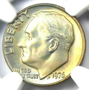 1976 Roosevelt Dime 10C - Certified NGC MS68 - $1,300 Value - Top Pop 3/0 Coin!