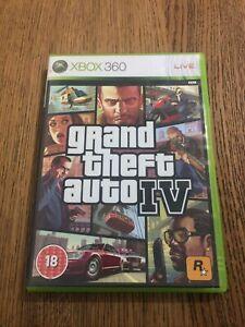 Grand Theft Auto IV GTA 4 Microsoft Xbox 360