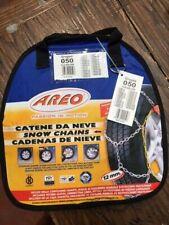 Due Catene da neve AREO 12MM Gruppo 050 165/70-14 175/65-14 175/55-15  202050