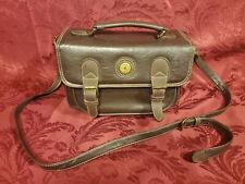 Vintage Rina Rich International Handbag in Brown Leather, Gorgeous Rich Feel