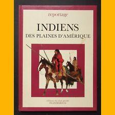 INDIENS DES PLAINES D'AMÉRIQUE Christopher Davis 1977