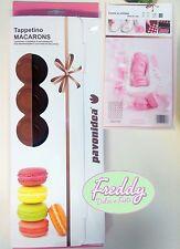 tappetino in silicone per 42 macarons diam. 40 mm. pavoni dolci cake design