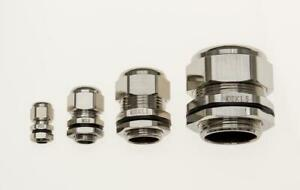 Nickel Plated Brass Cable Glands M6 M10 M12 M16 M20 M25 M32 M40 M50 M63