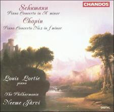 Jarvi Neeme - Lortie Louis ...-Schumann - Chopin Piano Concertos  CD NEW