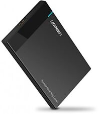 USB HDD Enclosure, UGREEN 2.5 External Hard Drive Case, Tool-Free SSD Caddy for