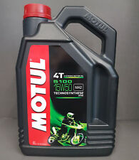 1x Motul 5100 4-takt SAE 15w50 motorradöl ACEITE DE MOTOR 4 Litros MA2 #
