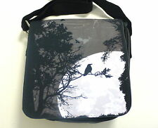 Pulp Horror Goth Horror Punk Raven Ladies Small Shoulder Bag