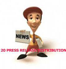 Press Release Writing+Submission to 25 PR sites +Bonus