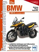 WERKSTATTHANDBUCH REPARATURANLEITUNG 5292 BMW F 800 GS ab MODELLJAHR 2008