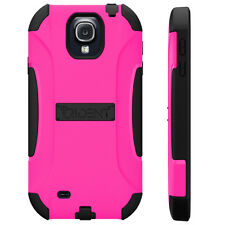 NEW TRIDENT AEGIS CASE COVER FOR SAMSUNG GALAXY S4 PINK BLACK AG-SAM-S4-PNK S 4