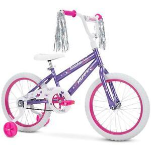 Huffy 18-Inch Sea Star Girls Bike , Purple Metallic Gloss