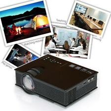 UC40+ Pro HD 1080P LED Home Theater Cinema Game Projector HDMI VGA USB Drive