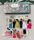 DAWN & Her Friends Doll Carry Case & Dolls 1971 Topper