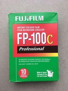 Fujifilm FP100C Colour Film. Expired 2013 . 1 box/10 exposures. Peel apart. COLD