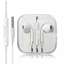 Headphones Earphones Earbuds With Remote & Mic For Apple iPhone 6S 6 5 5S White