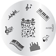 Konad Stamping Template M105 Nail Art NEW