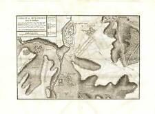 Antique Map-MULHOUSE-BATTLE 1674-ALSACE-FRANCE-Beaurain-1782
