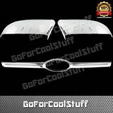 12-14 For Ford Edge Half Mirror+Rear Trunk Chrome Abs Covers