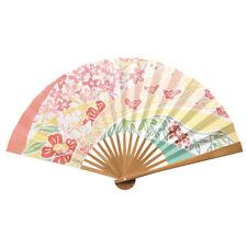 "SENSU Fächer aus Bambus + Papier ""Hanafuku - Blüten-Glück"", folding fan"