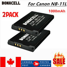 2 ×1000mAh Battery For Canon NB-11L NB-11LH ELPH 110 115 130 135 140 150 340 CA
