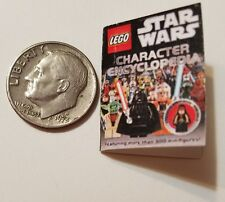 "Miniature Dollhouse Legos Toys Action Figure  book Barbie 1/12 Scale  1""  Darth"