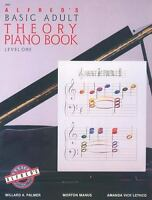 Alfred's Basic Adult Theory Piano Book: Level One (2462): By Willard A. Palme...