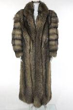 Neiman Marcus Beige Brown Fox Fur Coat Size Large