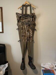 Lacrosse Men's 700082 Alpha Swampfox Drop-Top Realtree Max-5 600G Wader Boots